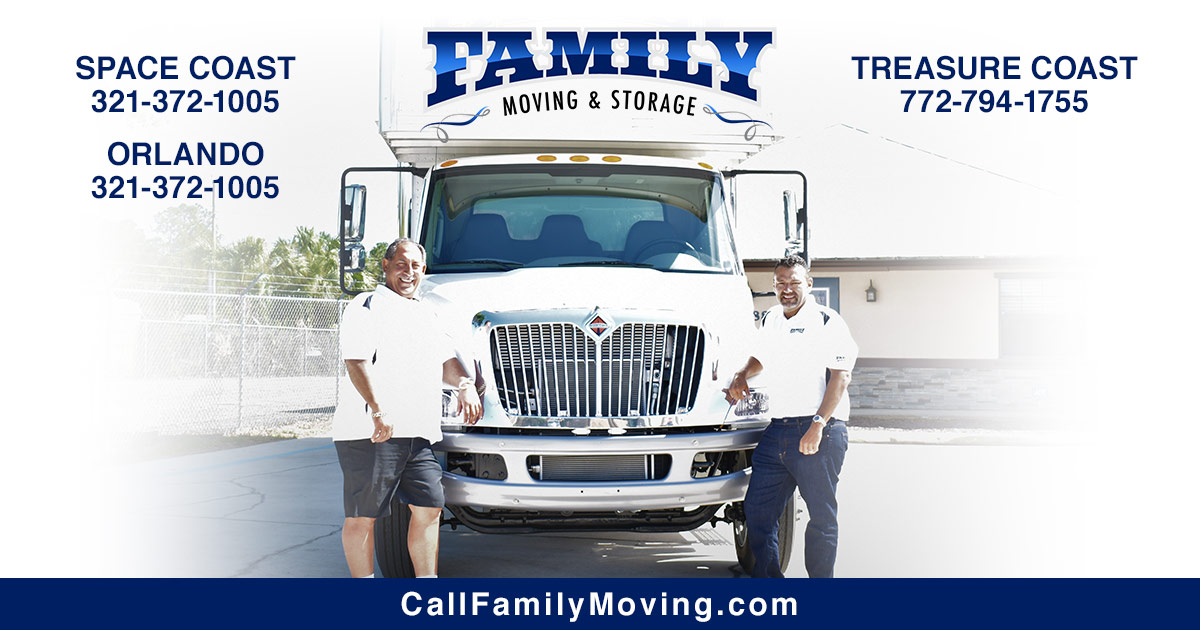 Space Coast Moving Company | Professional Movers | Family ...